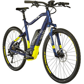 HAIBIKE SDURO Cross 7.0, blue/yellow/silver matte